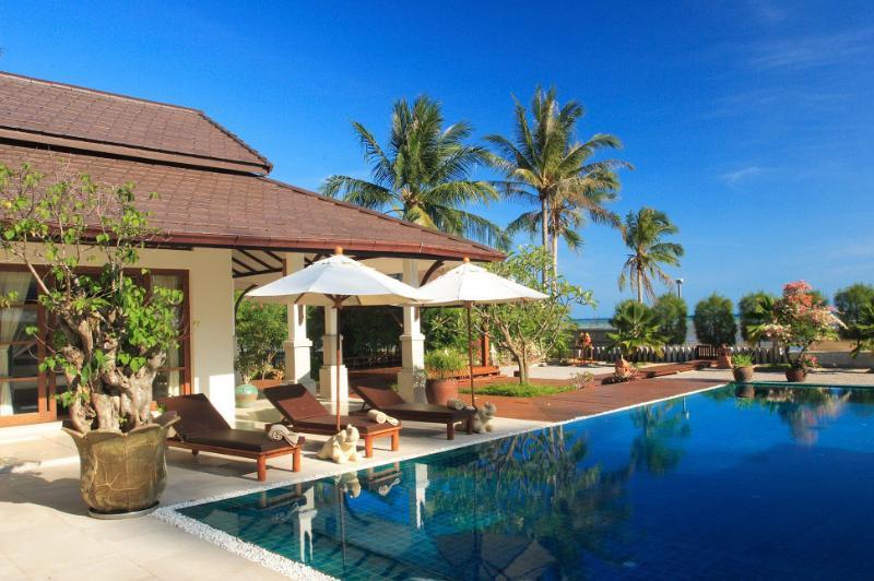 Samui Island Villas - Villa 113 Quiet Sandy Beach - Image 1 - Laem Set - rentals
