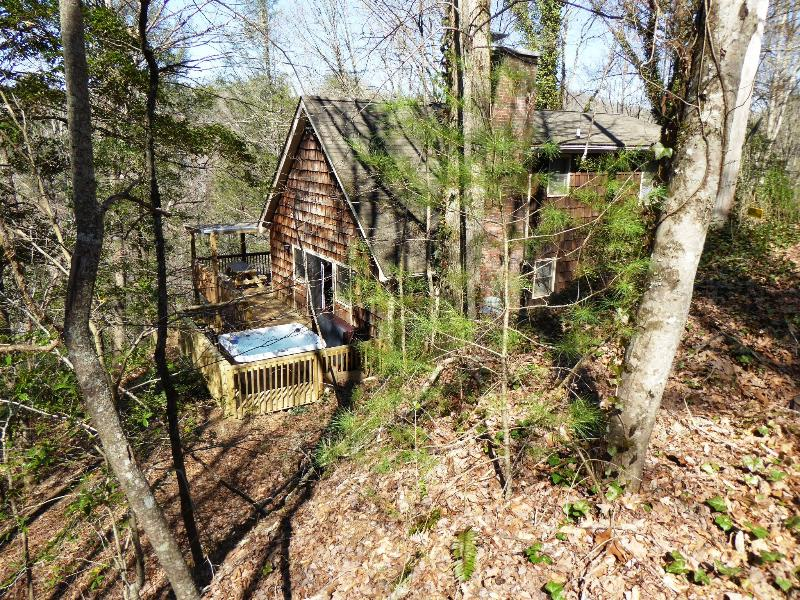 NATURE'S RETREAT - Secluded in the Great Smoky Mountains - NATURE'S RETREAT CABIN near Cherokee and Casino - Cherokee - rentals