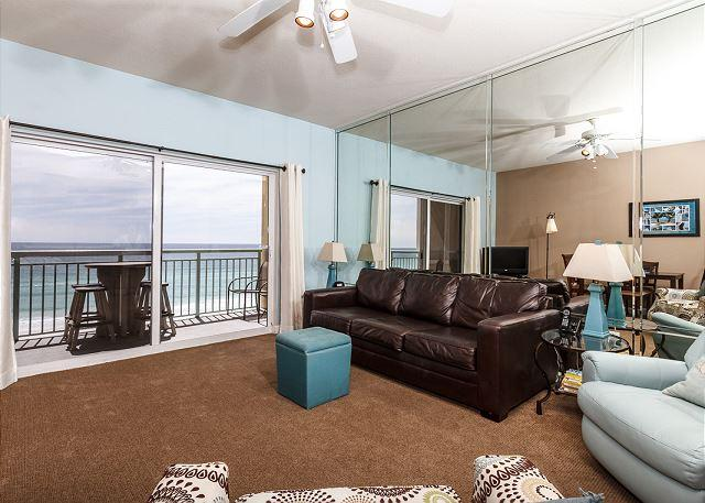 Added during the November 2011 update, the new leather sofa pull - PI 610:15%OFF the week of 7/30-8/6/16 with promo code BEACH15 call - Fort Walton Beach - rentals
