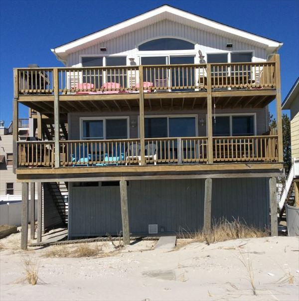 VIEW FROM BEACH - Ziff 1 3568 60852 - Beach Haven Terrace - rentals