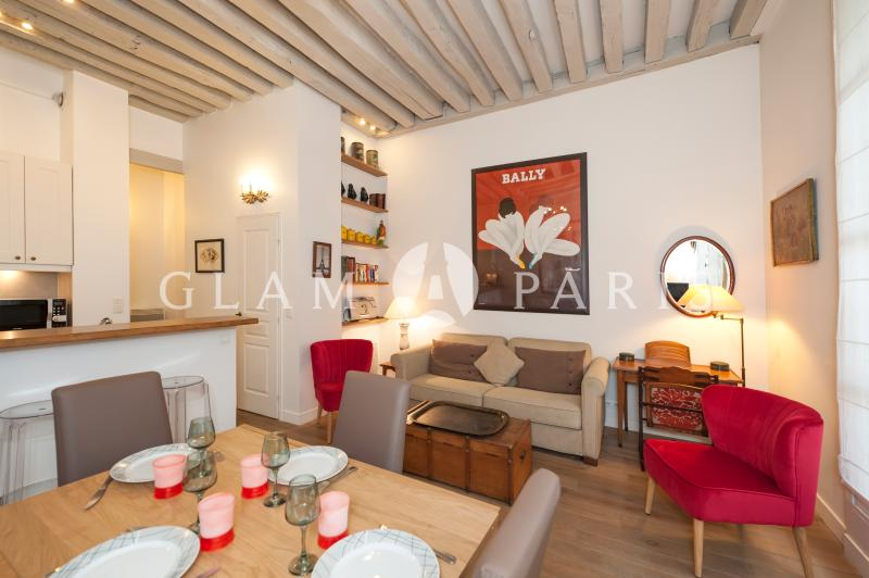 Dining area - Charming 2BR/2BTH - August special rate !!! - Paris - rentals