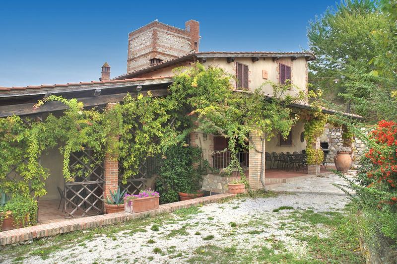 Villa Rapolano - Image 1 - Radicofani - rentals