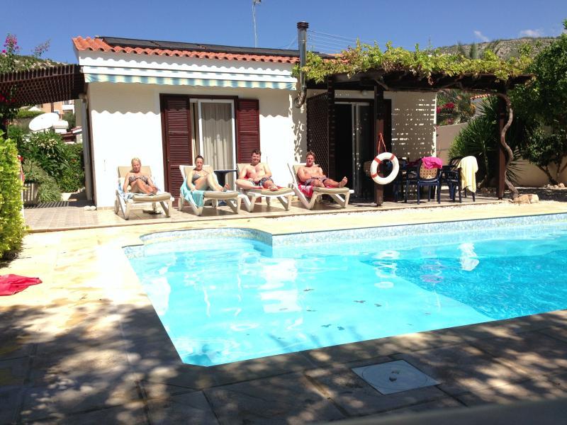Villa Pilgrims - luxury private 3 bedroom villa with heated pool - Peyia - rentals
