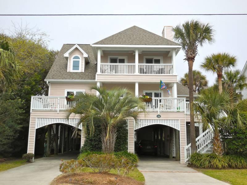 Exterior - C Scape - Folly Beach, SC - 4 Beds BATHS: 3 Full 1 Half - Folly Beach - rentals