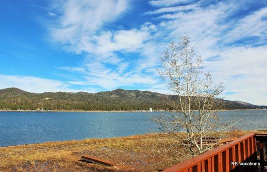 Gorgeous View from Both Cabins - Modern Lakefront Combo: Lakefront Duplex with Incredible Views! - City of Big Bear Lake - rentals