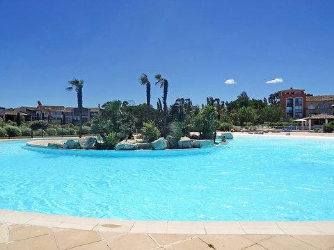 Les Marines de Gassin 1 Bedroom Rental with Terrace and Pool, St Tropez - Image 1 - Saint-Tropez - rentals