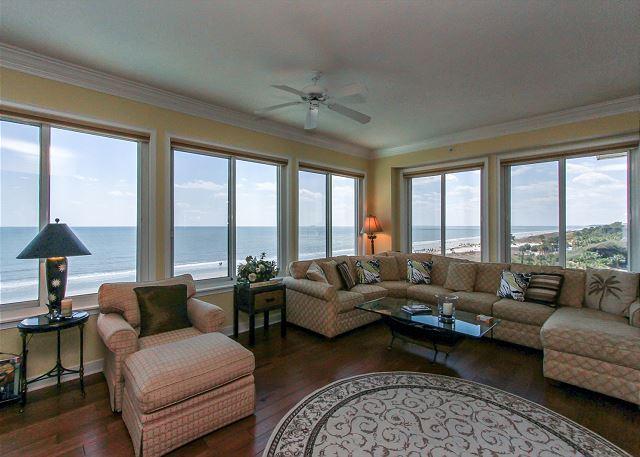 3501 SeaCrest - Oceanfront 5th Floor Penthouse. WoW views! - Image 1 - Hilton Head - rentals
