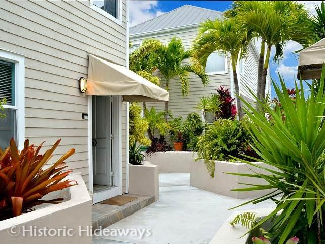 Entrance to Home - Duval Square - Key West - rentals