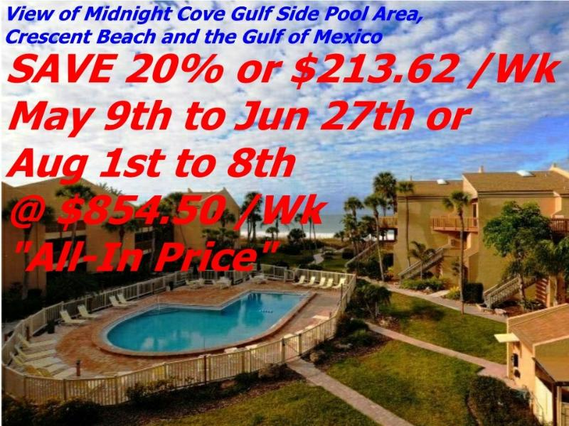 Sun, Sand & *SAVE 20% or 35%* Midnight Cove #532 - Image 1 - Siesta Key - rentals