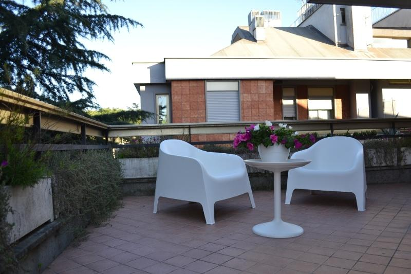 THE FANTASTIC TERRACE ! - VATICAN - TERRACE APART, A/C, HEAT, WIFI, SAT TV - Rome - rentals