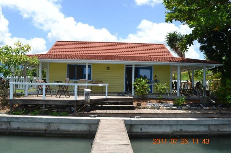 317B Yellow Belle, Lovely waterfront cottage - Image 1 - Jolly Harbour - rentals