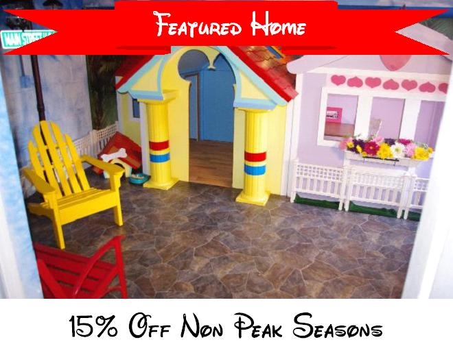 Mickey & Minnie's Playhouse - Image 1 - Kissimmee - rentals
