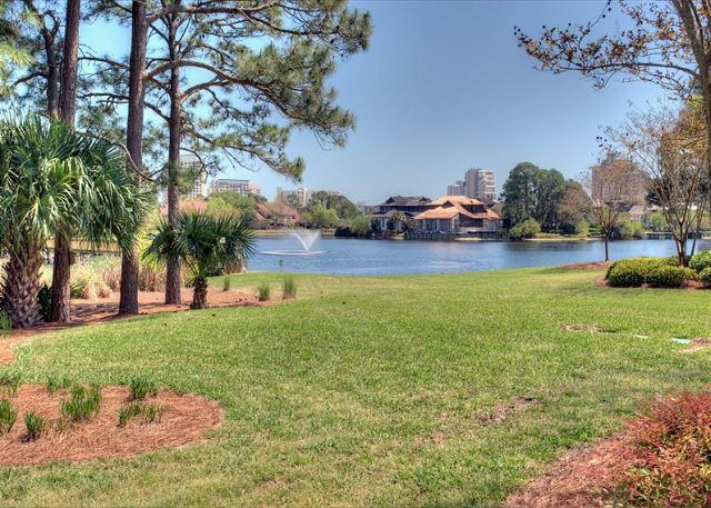 View from Patio - Recently updated. Perfect for 2 couples with 2 king beds! - Sandestin - rentals