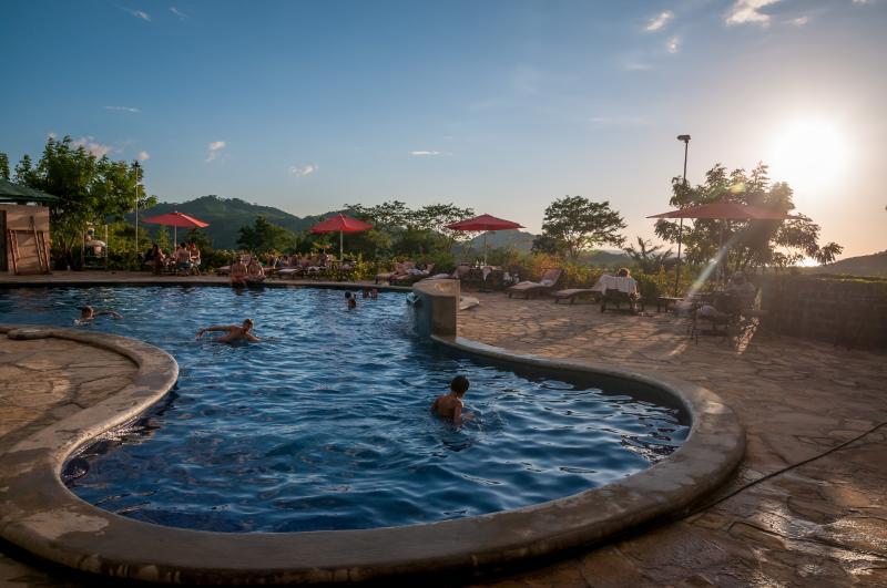 "We just had to include another pool shot! - Villa Palermo-2 suites, oceanview, 40"" TV, pool - San Juan del Sur - rentals"