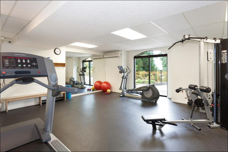 Enjoy the Fully Loaded Common Area Fitness Room - Slopeside on Blackcomb Mountain - Year Round Pool, Hot Tub & Fitness Room (4075) - Whistler - rentals