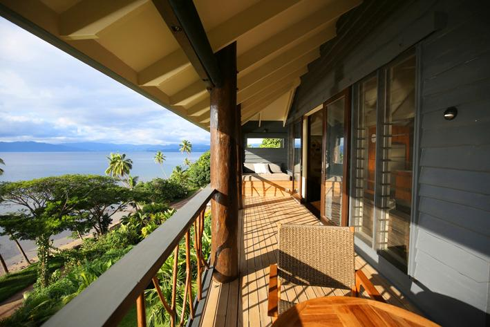 Pod House Verandah - The Pod House with marble pool, complete privacy - Savusavu - rentals