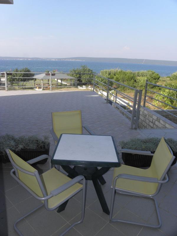 SA1(2+1): terrace - 2668 SA1(2+1) - Banj - Banj - rentals