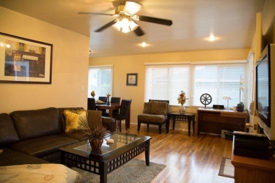 Open living room and plentiful daylight - The Pacific Beach 2 Bedroom Bungalow - La Jolla - rentals