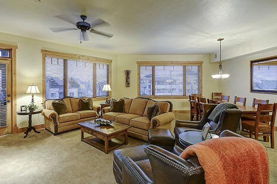 Living Room - 6201 Bear Lodge - 6201 Bear Lodge - Steamboat Springs - rentals