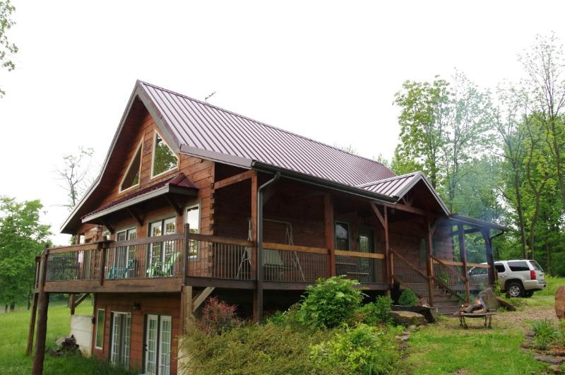Beautiful Log home, on wine trail, amazing view - Image 1 - Makanda - rentals