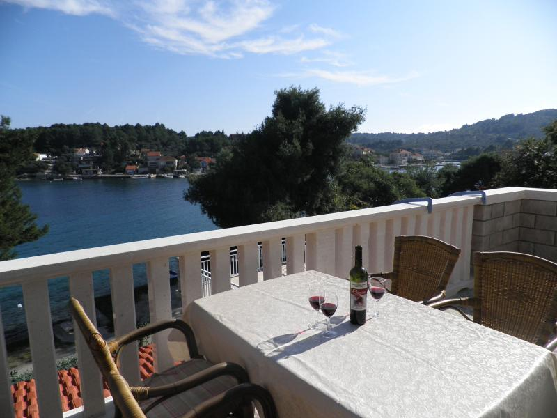 Apartment Nobilo3 near sea shore - Image 1 - Lumbarda - rentals