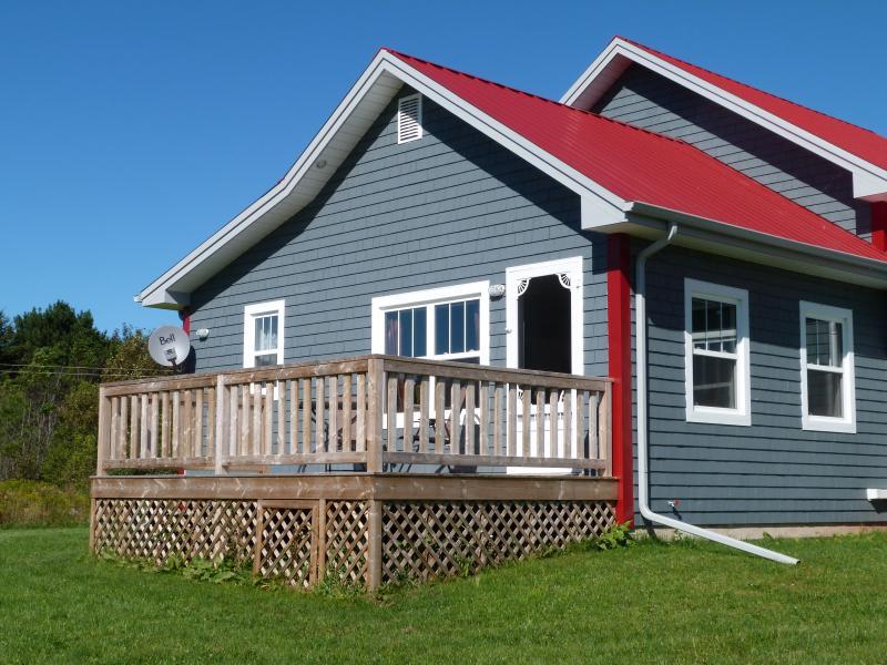 Private deck on Victoria Garden Suite - Victoria Cottage Garden Suite - Victoria - rentals