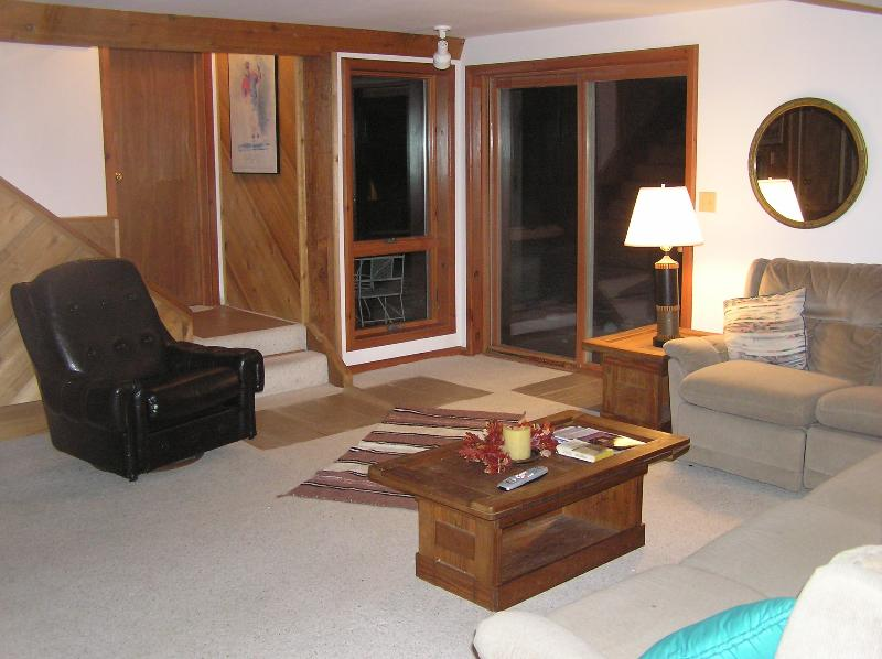 LIVING ROOM - Killington Furnished Private Apartment - Killington - rentals