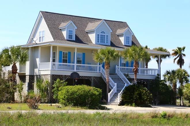 "3523 Myrtle St  - ""Gone Shelling"" - Ocean Ri - Image 1 - Edisto Beach - rentals"