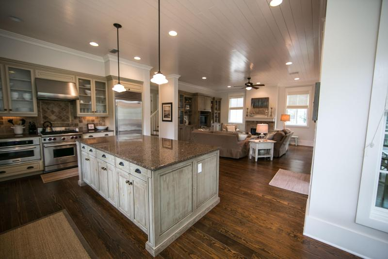 Open Concept Kitchen, Living and Dining - 208 BLUEJACK STREET - Santa Rosa Beach - rentals