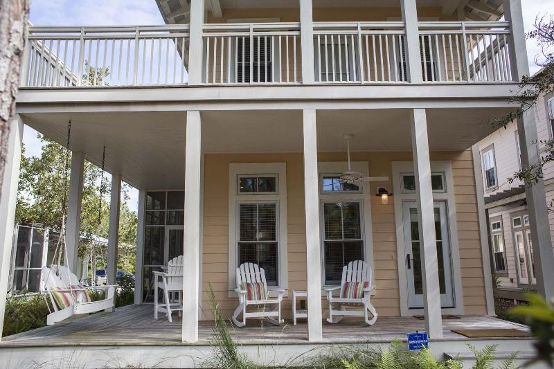 Large porch with ample seating - 141 WINTERBERRY CIRCLE - Santa Rosa Beach - rentals