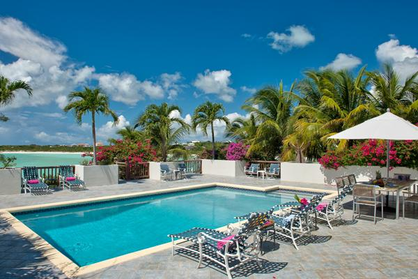 Plantation- style villa in Ocean Point, ocean views with eclectic safari décor. TNC VUX - Image 1 - Turks and Caicos - rentals