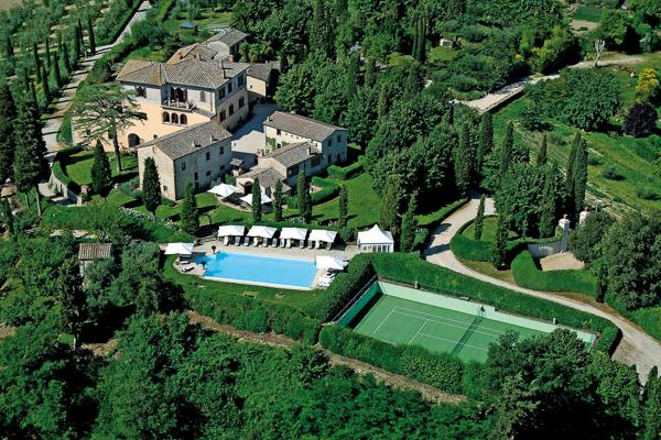 In the heart of Chianti, this villa can sleep up to 31 people. BRV GAI - Image 1 - Tuscany - rentals