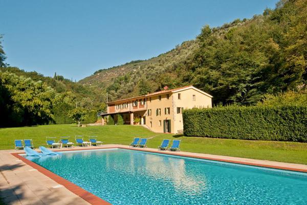 Large farmhouse on the same estate as La Damigella- close to Versilia resort. SAL ALI - Image 1 - Lucca - rentals