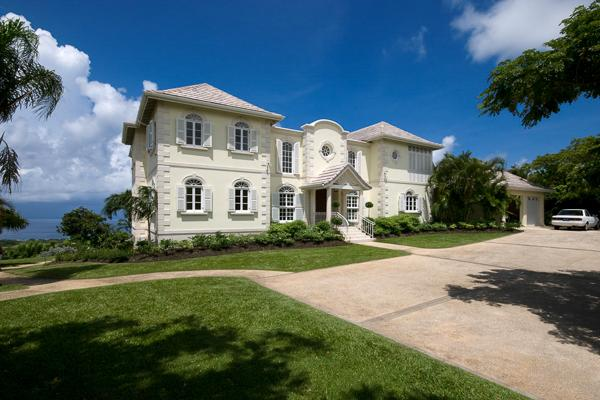 Spectacular West Coast views form this coral stone home- 10 minute drive from the beach. RL GIN - Image 1 - Saint Lucy - rentals