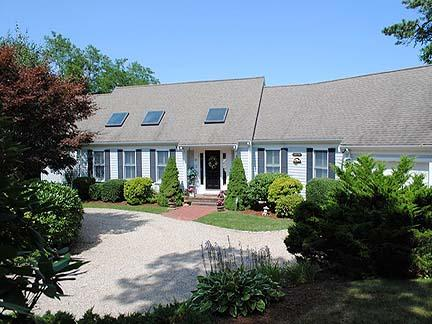 Front of House - Chatham  Cape Cod Waterfront Vacation Rental (9718) - Chatham - rentals