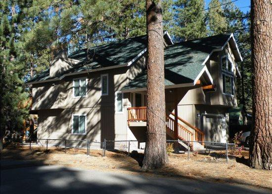V44- Just across the street from the Lake, great lakes views with private hot tub. New home. - Image 1 - South Lake Tahoe - rentals