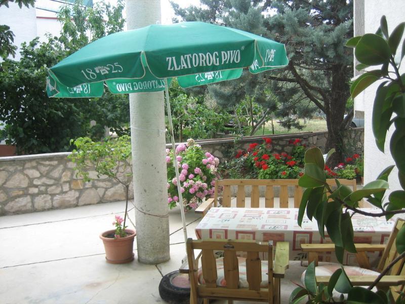 A1(6+1): garden terrace - 00320DOBR A1(6+1) - Dobropoljana - Dobropoljana - rentals