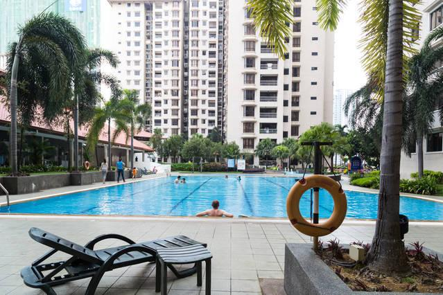 Swimming Pool - PrivateRoom ensuite Bathroom, Casa Tropicana Condo - Petaling Jaya - rentals