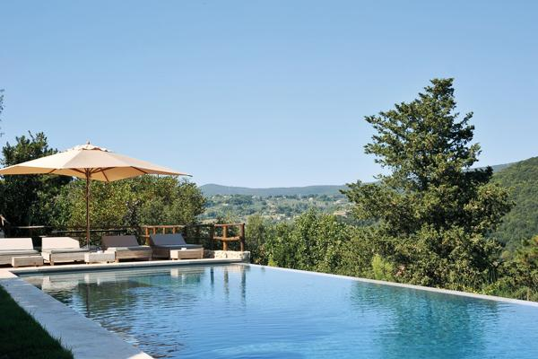 Sitting on the ruins of a watchtower, this villa has been carefully restored. HII TOR - Image 1 - Umbria - rentals