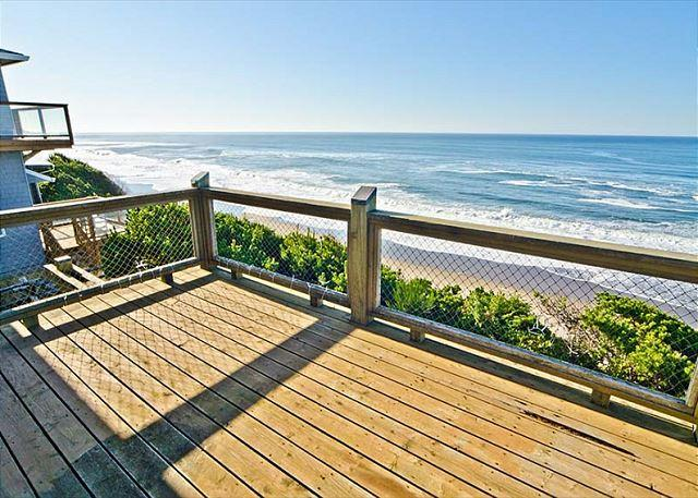 Oceanfront Home has Multiple Decks, Stellar Views - Image 1 - Gleneden Beach - rentals