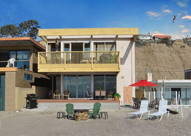 095U - Spacious Beach House On The Sand! 3 Bedrooms / 4 Bathrooms - Image 1 - Capistrano Beach - rentals