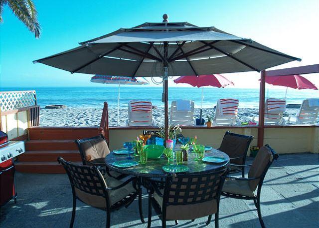 Beach Duplex on the Sand!  Weekend OK! Sleeps 10 to 20 - Image 1 - Dana Point - rentals