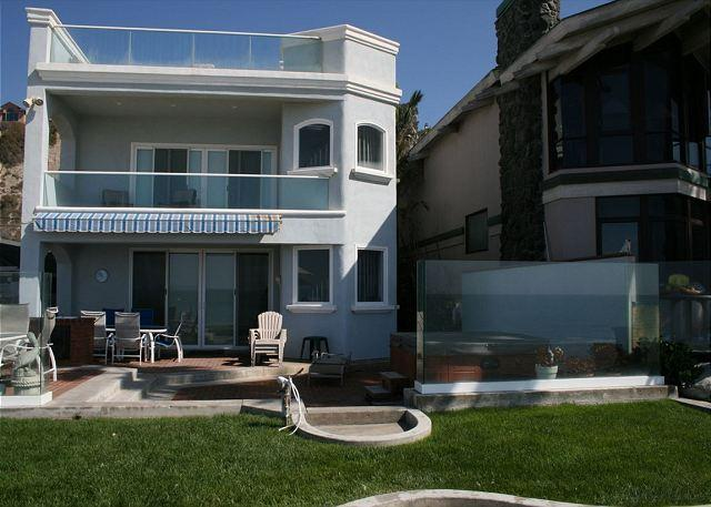Beautiful Large Family Style Beach House on the Sand with Hot Tub! 485 - Image 1 - Dana Point - rentals