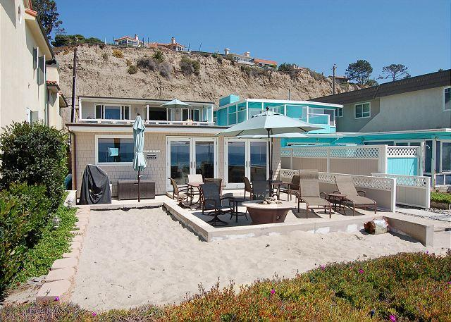 Beach House with GREAT Patio Right on the Sand! Sleeps 9 - Image 1 - Dana Point - rentals