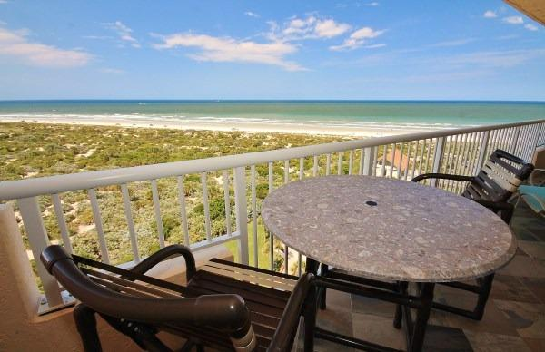 Amazing View from the Balcony - Inlet at Minorca- Oceanfront Ponce Inlet Surf Spot - New Smyrna Beach - rentals