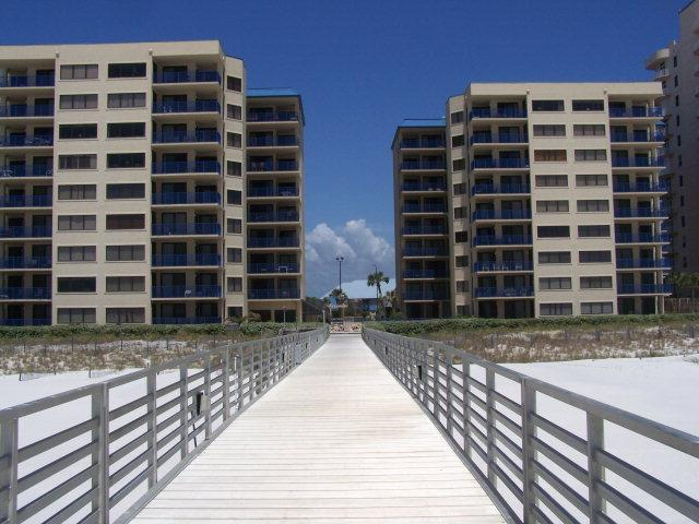 Exterior view from the beach side. - Four Seasons 104 (Ground Floor) Has Fishing Pier - Orange Beach - rentals