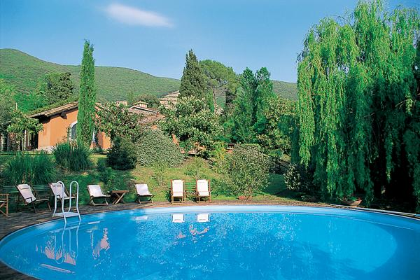 2- part villa with swimming pool- easy drive or train to Rome. HII POG - Image 1 - Lazio - rentals