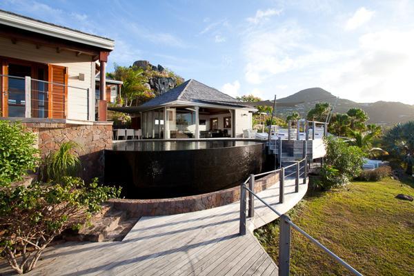 Impressive villa offering breathtaking views WV IND - Image 1 - Saint Barthelemy - rentals