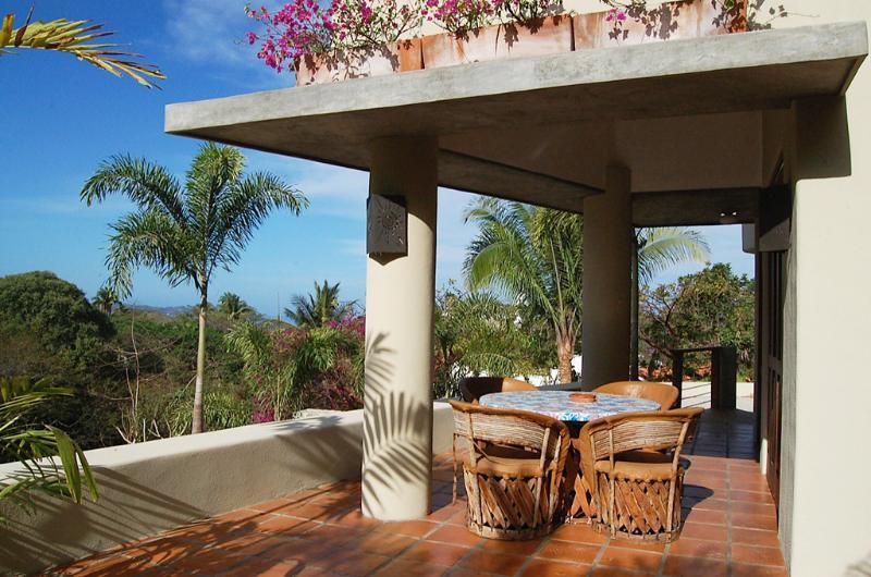 Outdoor dining terrace - Casita las Piedras - Near town/beach! - San Pancho - San Pancho - rentals