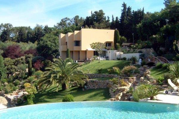 Luxury 6 Bedroom French Riviera Villa with a Hot Tub and Pool, YNF LGO - Image 1 - Beausoleil - rentals